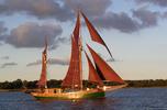 """""""Olander"""" statkiem Komisji Sędziowskiej w III Regatach Zachodniopomorskiego Szlaku Żeglarskiego Bakista Cup"""
